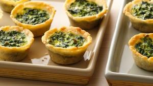 Spinach Mini Quiches gluten free
