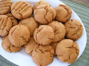 peanut-butter-cookies glutten