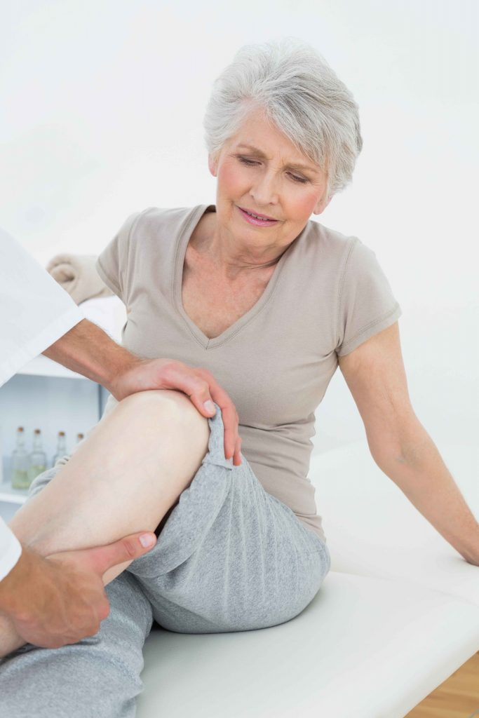 total knee replacement therapy